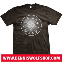 "T-Shirt ""Big Bad Wolf"" / black-grey"