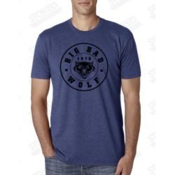 "T-Shirt ""Big Bad Wolf""  purple rush/ black"