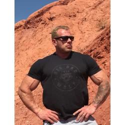 "T-Shirt ""Big Bad Wolf"" black / black"